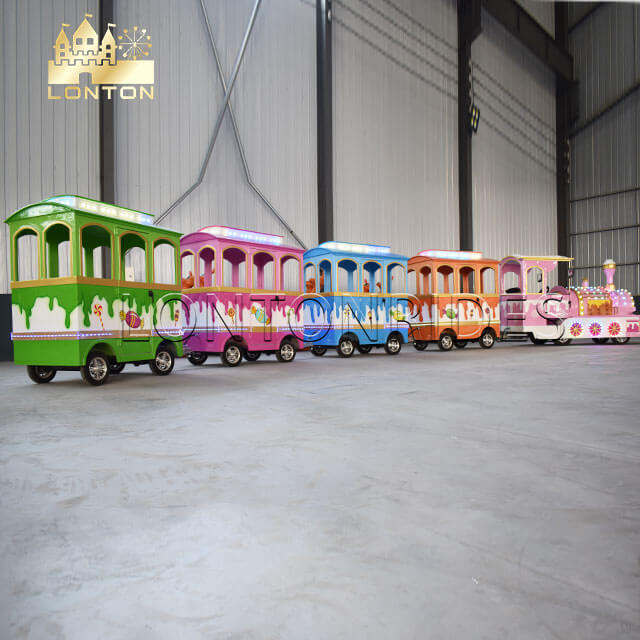 Sweet Trackless Train