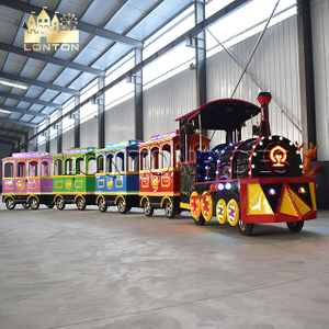 Vintage Trackless Train