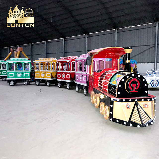 Most Popular Trackless train