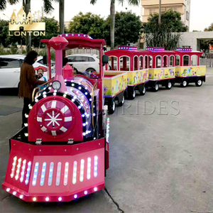 AntiqueTrackless train
