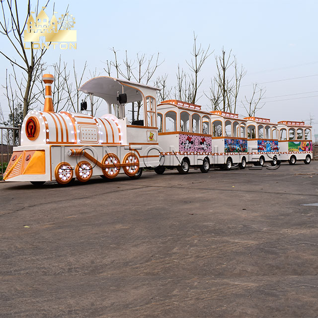 White Antique Train